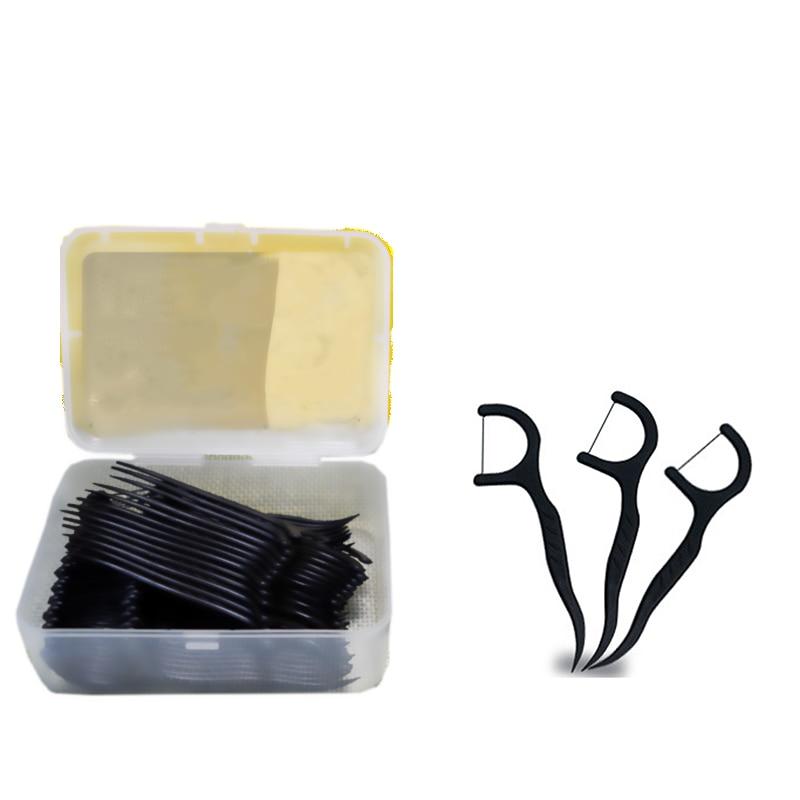 Dental Floss Picks Clean Interdental Stains One-Time Portable  Fresh Oral Teeth Interdental Brush Toothpick Flosser Tool