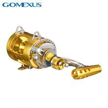 Gomexusトローリング海水サメマグロリールオフショアトーナメント50ワット97lbs 10年テスト