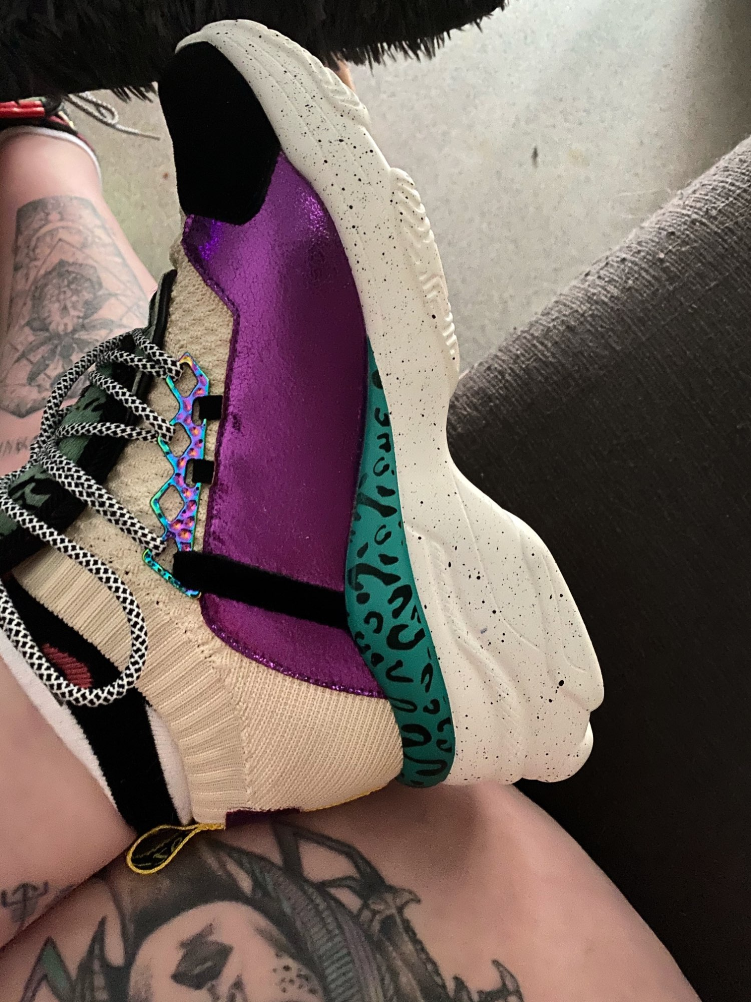 Women's Trendy Chunky Style Sneakers photo review