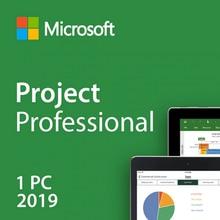 Proyecto de Microsoft 2019 - clé de produit et lien de téléchargement à vie de 32/64 bits