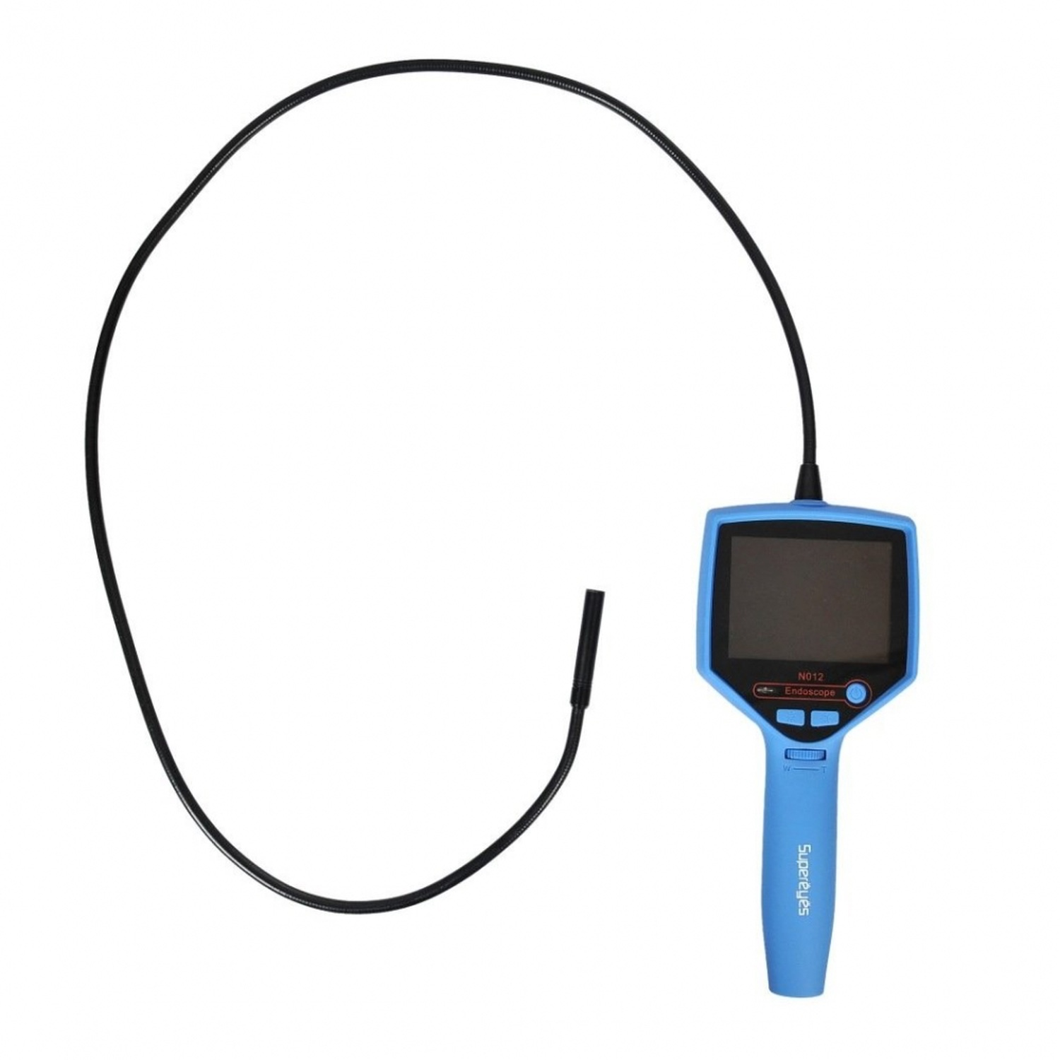Supereyes 9 mm 50X Waterproof USB Borescope Endoscope Bendable Inspection Camera with Mirrors for If