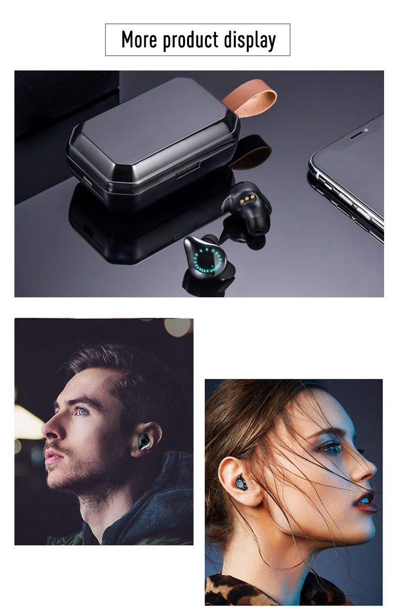 TWS 8000mAh Earphones Bluetooth 9D Stereo Wireless Headphones IPX7 Waterproof Sport Earbuds Headsets With LED Display Earphone (8)