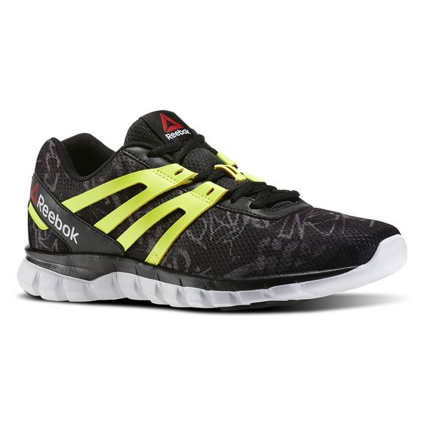 Running Shoes for Adults Reebok SUBLITE XT CUSHION GRFTMT Black Yellow