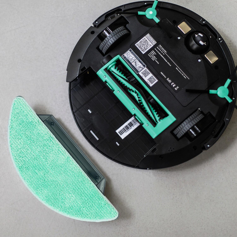 friega y Pasa la mopa aspira Robot Aspirador 4 en 1 Modos de Limpieza Barre Especial Mascotas programable navegaci/ón Inteligente IKOHS Netbot S14 mapeo y App para Suelos Duros y alfombras