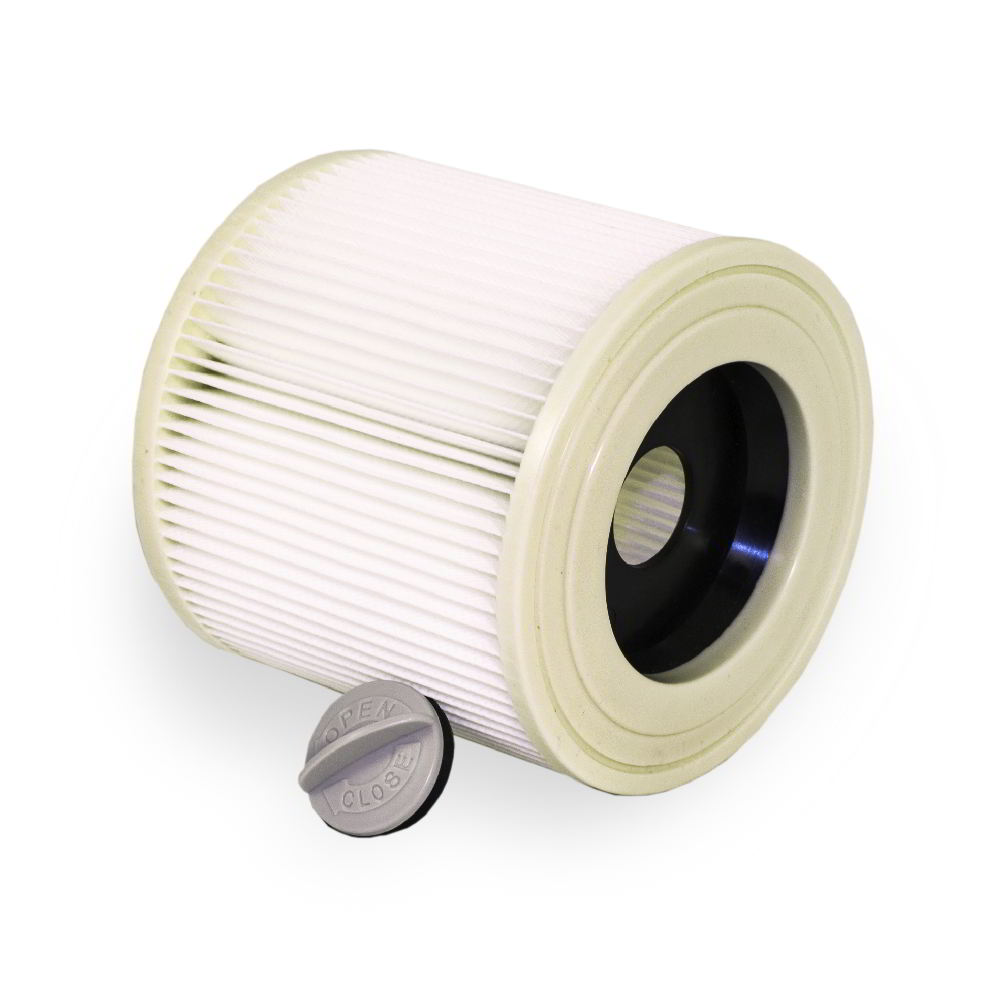 лучшая цена Filter for vacuum Cleaners Filtero FP 110 Pro PET dust Class M, suitable for vacuum cleaners KARCHER)