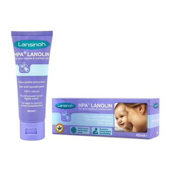 Lansinoh HPA lanolinowy krem na sutki 40 ml tanie i dobre opinie