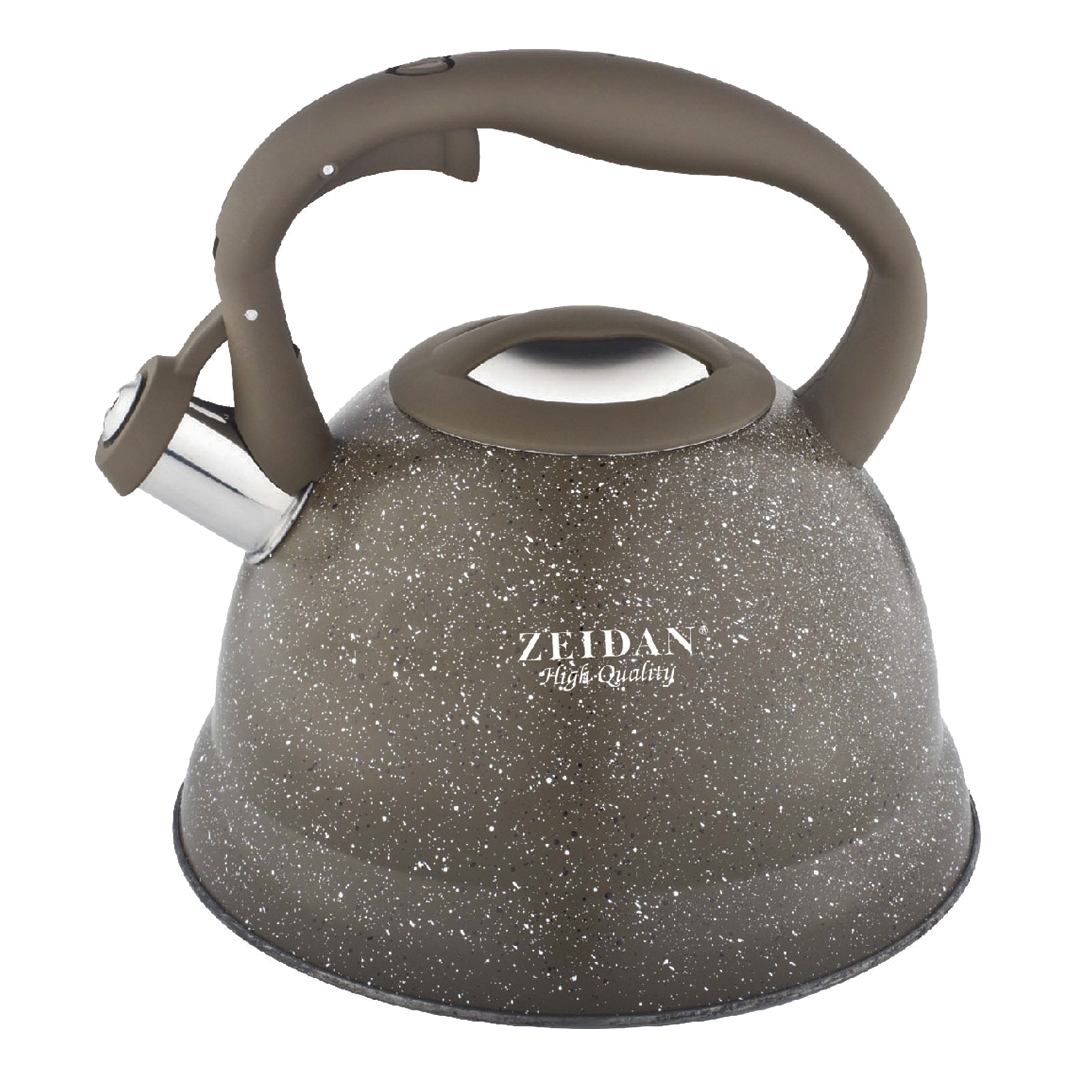 Kettle ZEIDAN Z-4159 (capacity 3l material-stainless steel capsuled bottom, the trigger mechanism) 3l 3000ml single neck round bottom flask joint 24 40 heavy wall lab glass