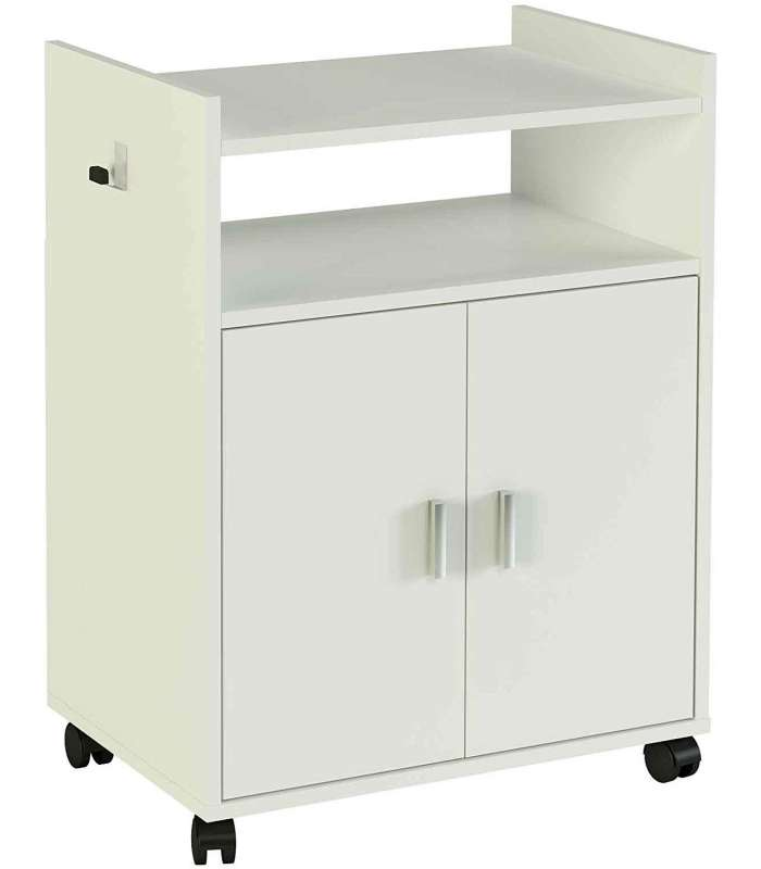 Auxiliary Furniture White Microwave