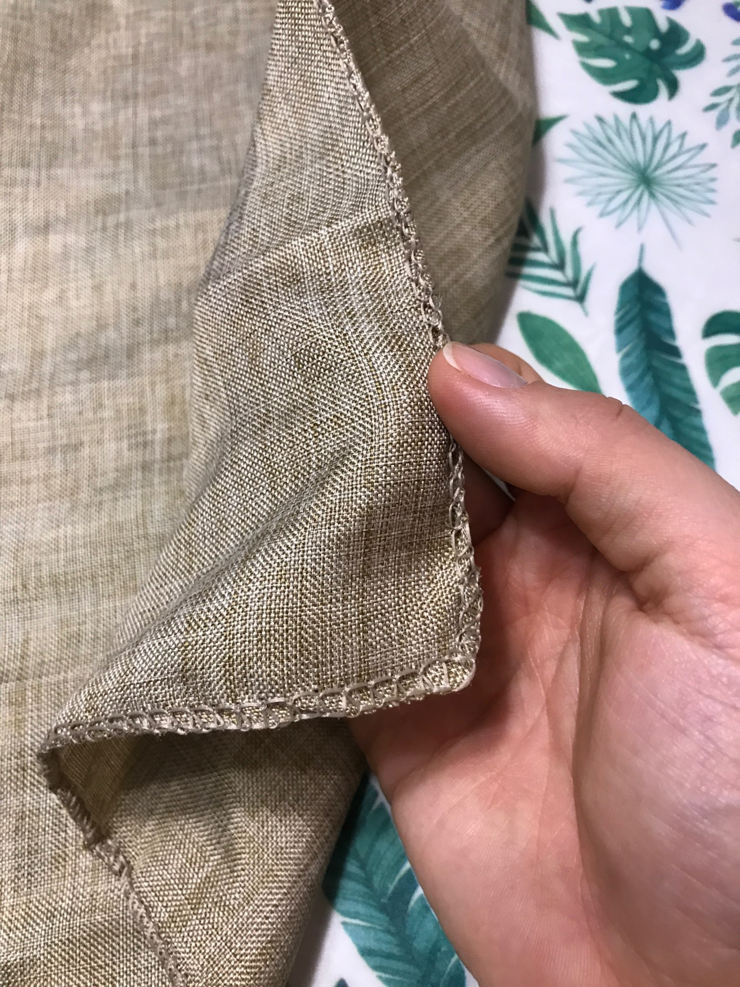 Vintage Natural Burlap Table Runner photo review