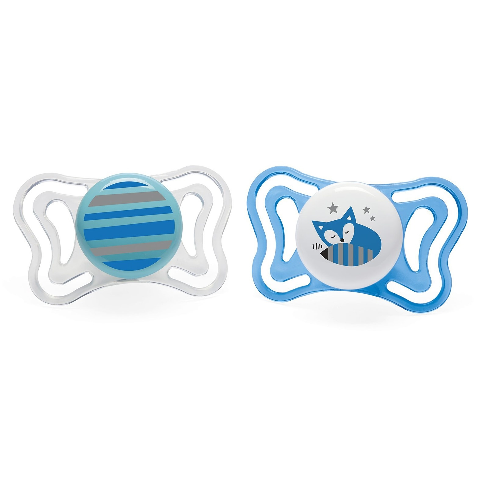 Ebebek Chicco Physio Light Silicone Pacifier 2 Pcs 6-16 M Baby Boy