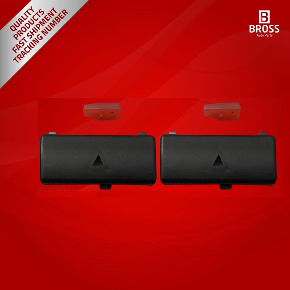 BDP88-5 2 Pieces Heater Climate Control Air Conditioning Switch Button Cover #5 For 5 Series X5 E53 2000- 2007 E39 1995-2003