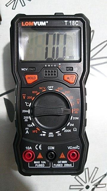 Smart Digital Multimeter photo review