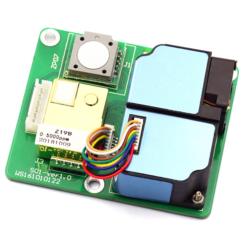 Taidacent Air Quality Detection All-in-one Module Electrochemical Formaldehyde Sensor Laser Dust Sensor CO2 VOC Sensor ZPHS01