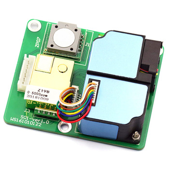 Taidacent Air Quality Detection All-in-one Module Electrochemical Formaldehyde Sensor Laser Dust Sensor CO2 VOC Sensor ZPHS01 фото
