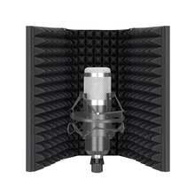 Neewer микрофон изоляционный щит 3/5 панельный поп фильтр пена
