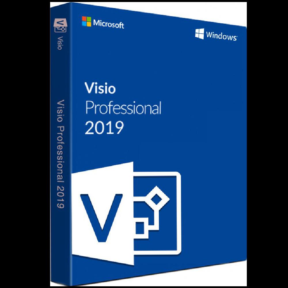 Microsoft Visio 2019 Pro Professional (32/64 Bit) Activation Product Key 1 PC Visio Microsoft