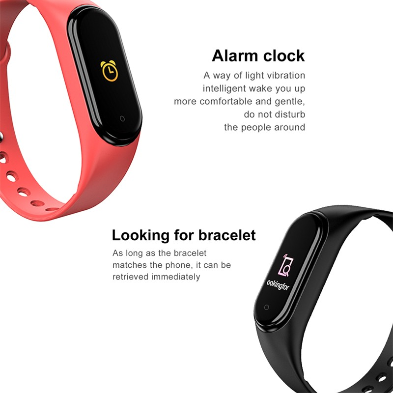 Ue7f9be28e93b4ce69f8f9f593781e6c7R Wipe Out Virus M4 Smart band 4 Fitness Tracker Watch Sport bracelet Heart Rate Blood Pressure Smartband Monitor Health Wristband