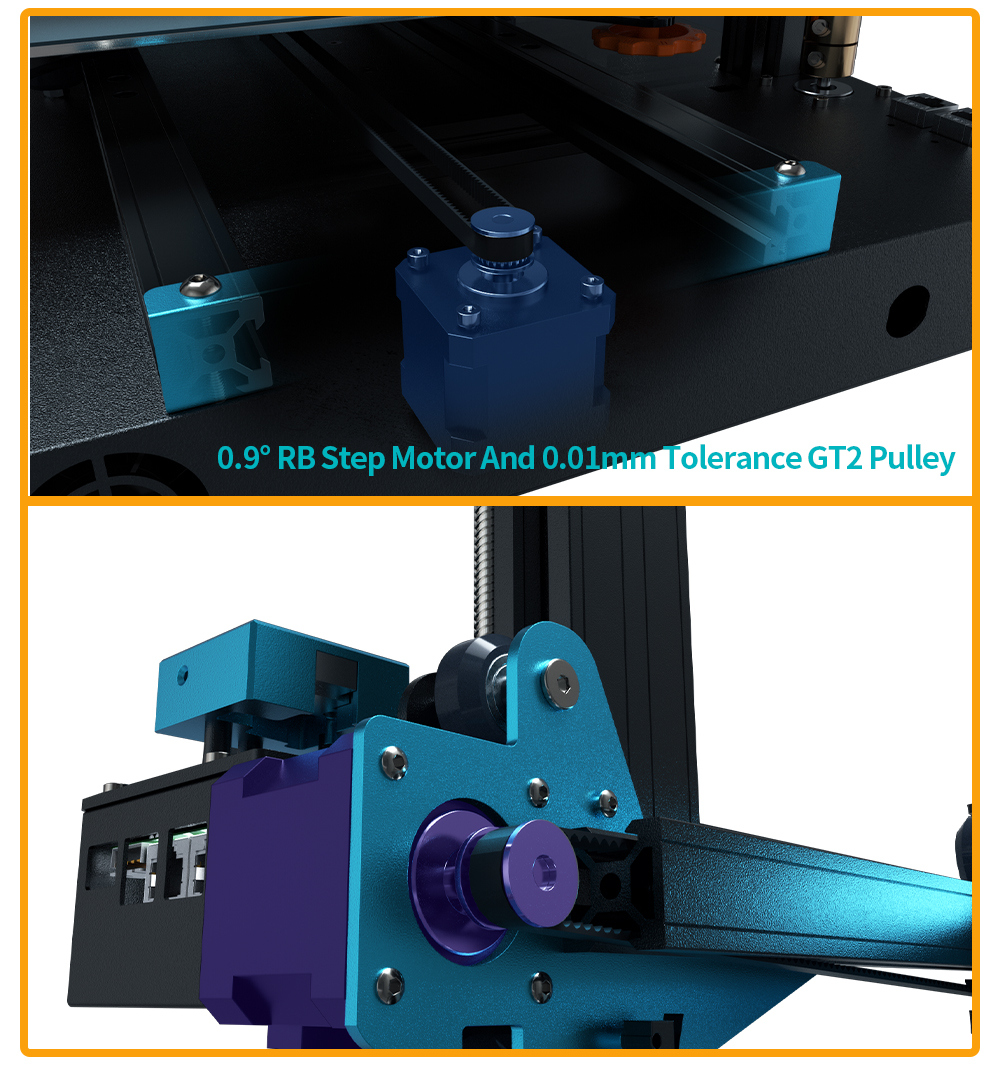 TWO TREES BLUER PLUS I3 Mega Metal 3D Printer WIth Touch Screen 18