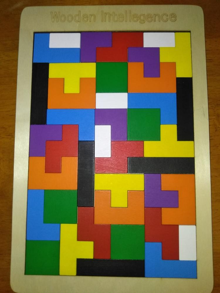 Tetris Wooden Puzzle Toy photo review