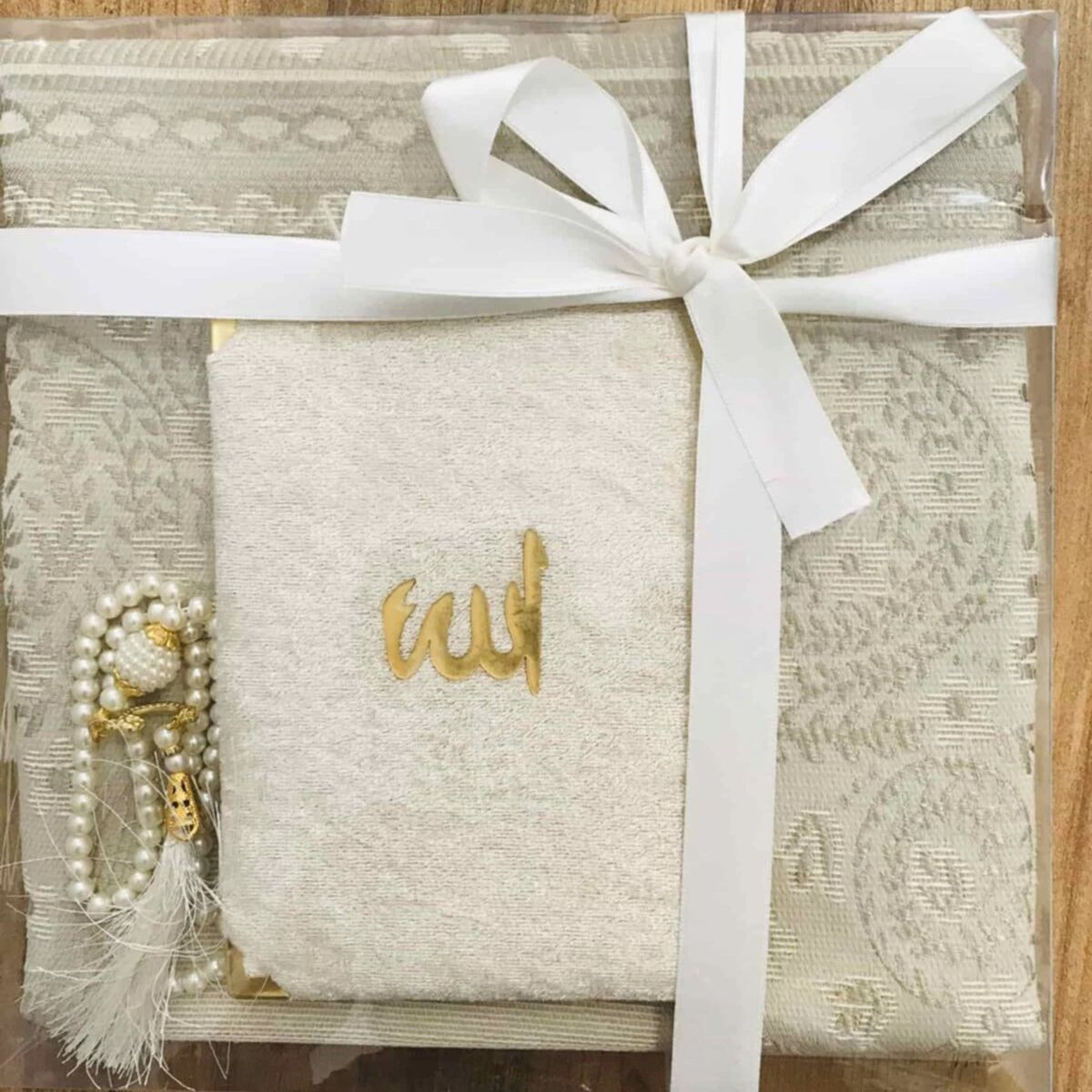 Seccade Seti Prayer Rug Set 3Pcs Muslim Set Arabic Islamic Items Mevlüt Umrah Gift Sijadat Rug