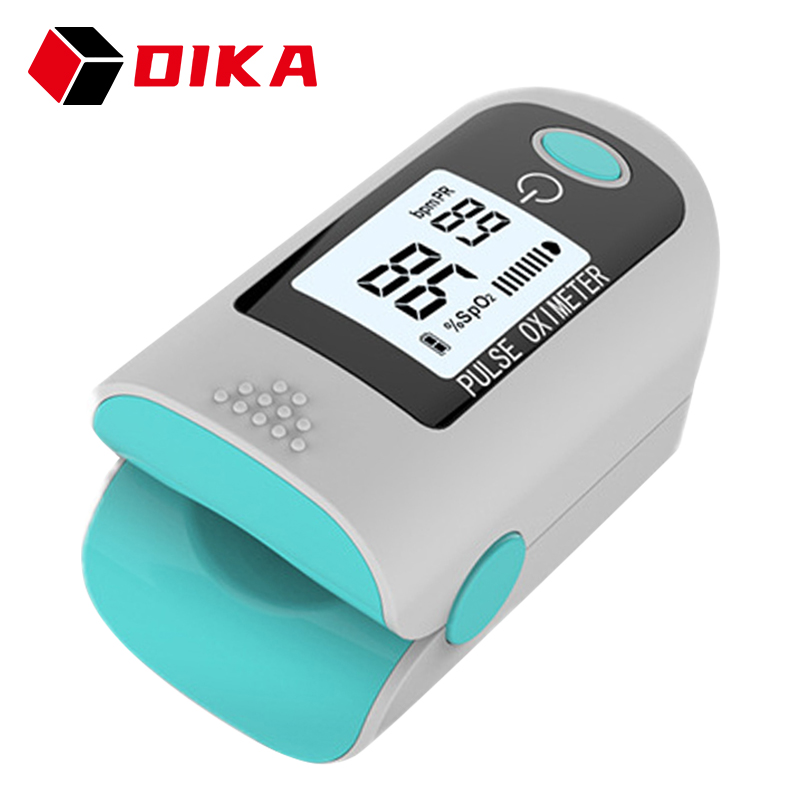 Цифровой Пульсоксиметр на кончик пальца SPO2 PR, профессиональный измеритель пульса и уровня кислорода в крови пульсоксиметр на палец оксимет...