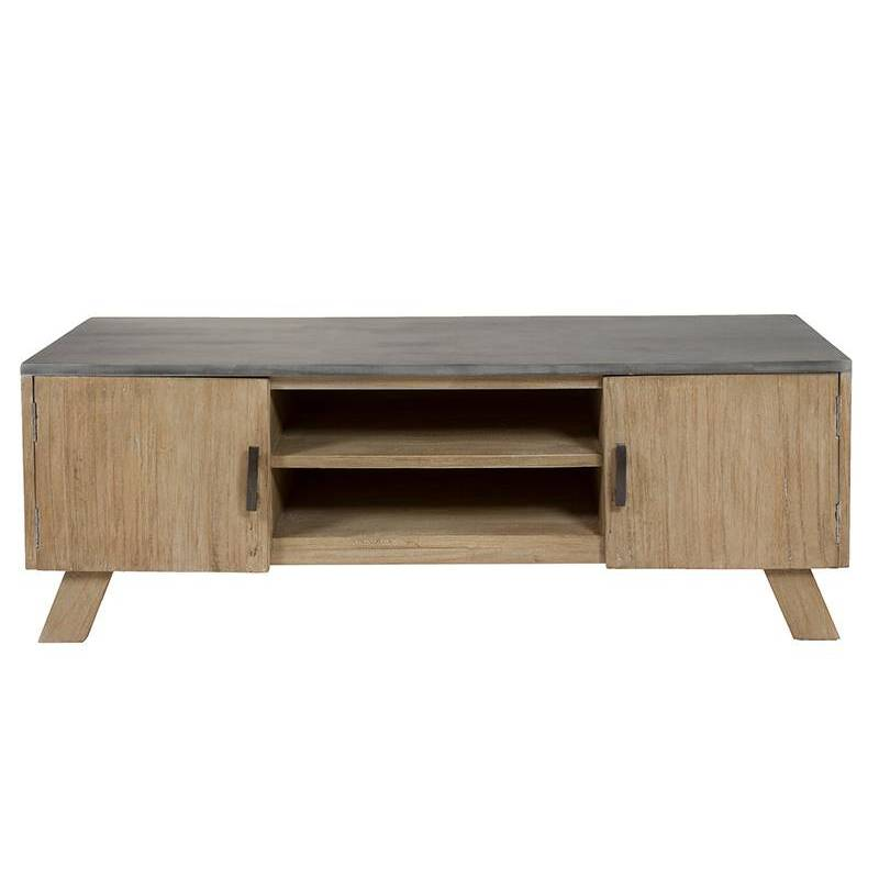 Table For TV (130x42x45 Cm) Wood Mindi