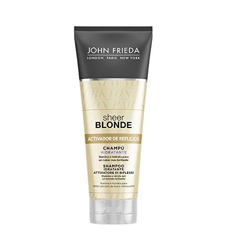Tinting Shampoo For Blonde Hair Sheer John Frieda (250 Ml)