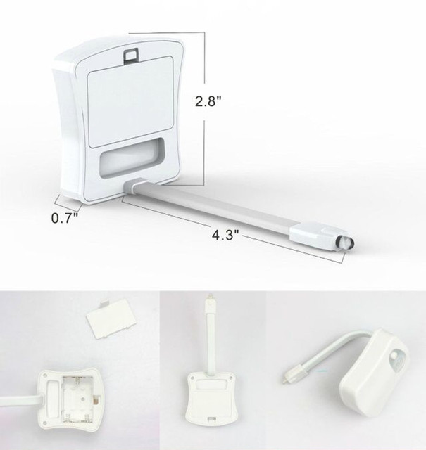 Sensor de Luz LED para asiento de inodoro 1