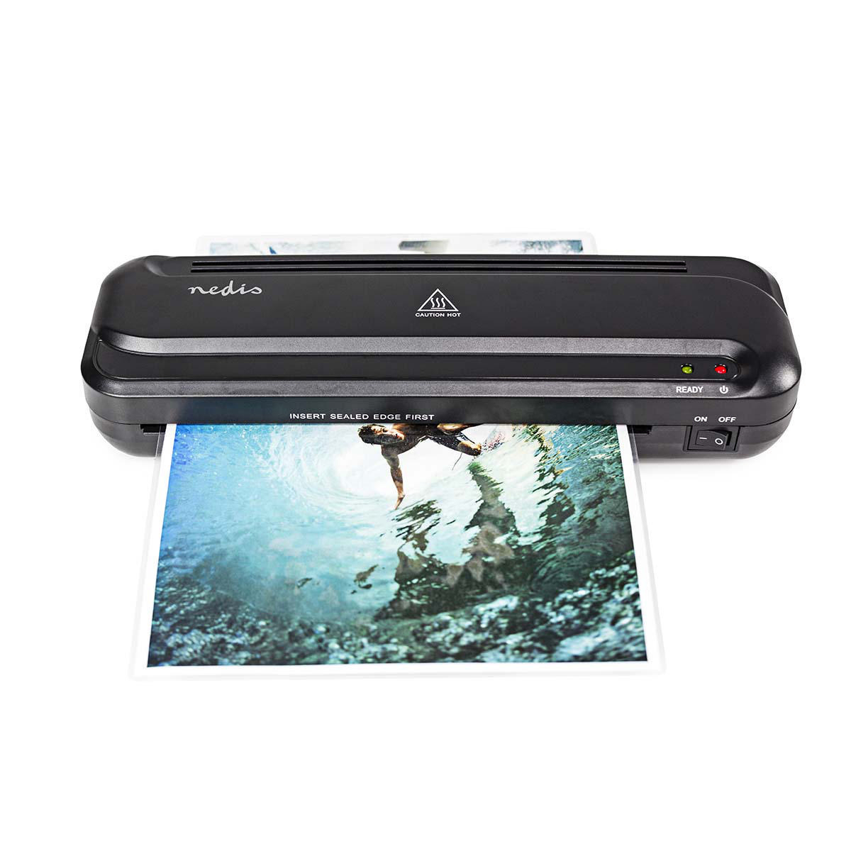 By Nedis Machine Laminator | Heat | A4 Size | 230 Mm/min NE550671246