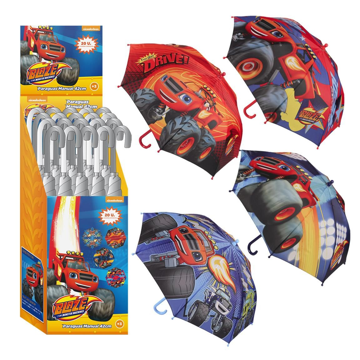 Umbrella Blaze And The Monster Machine Handbook 42cm