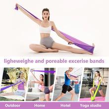 Эластичные резинки для фитнеса экспандер стрейч упражнения резинкой