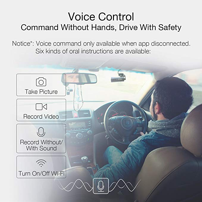 Xiaomi 70Mai 1s App Smart WiFi Car DVR Voice Control Car Dash Cam 1080P Full HD Night Version G Sensor Driving Recorder English in DVR Dash Camera from Automobiles Motorcycles