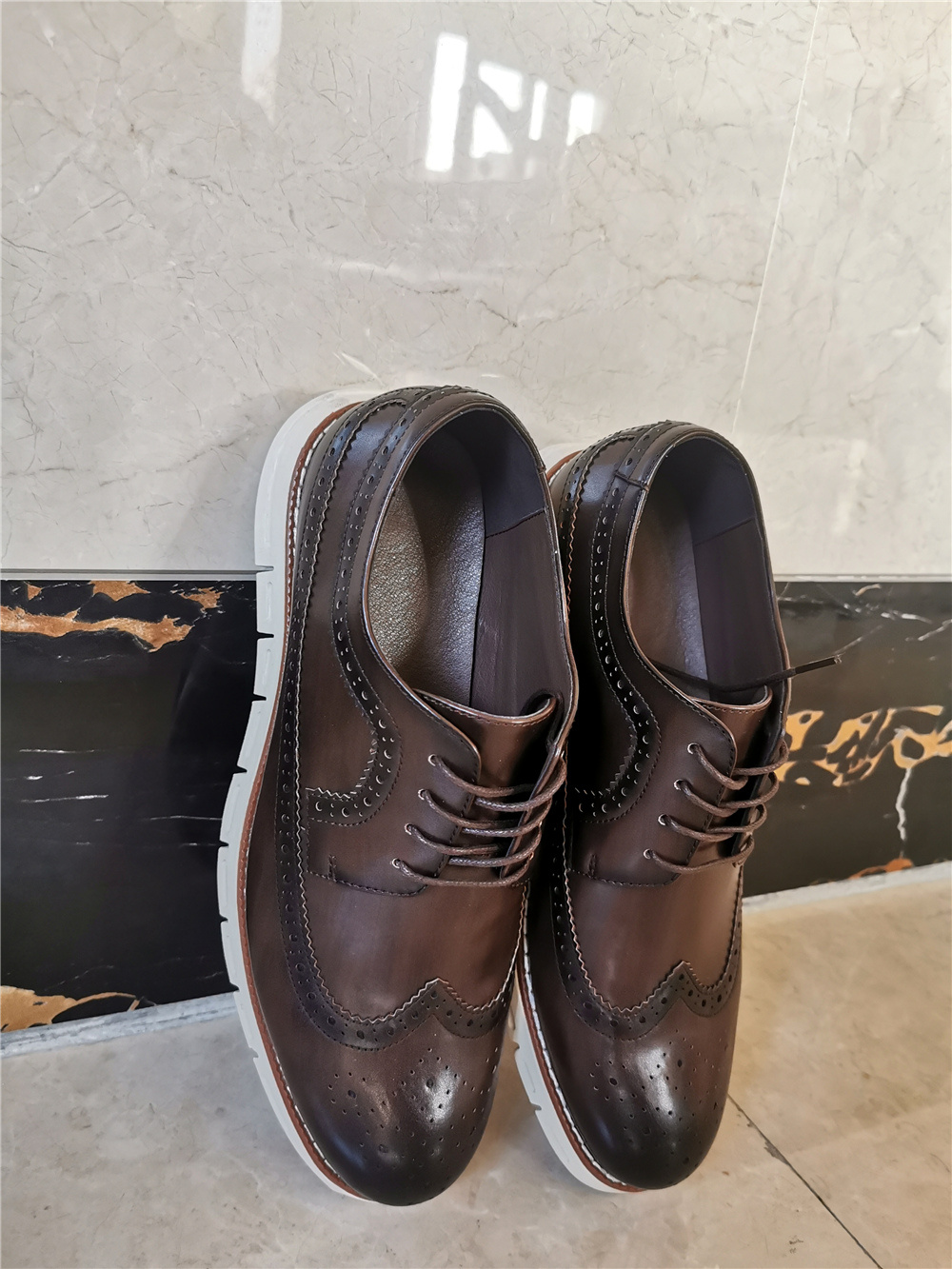 [Best Seller] Men's Leather Casual Brogues photo review