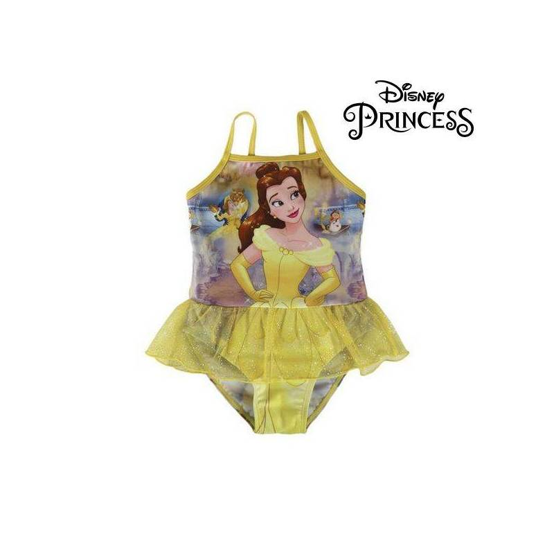 Swimsuit Child Disney Princesses 71950 Yellow