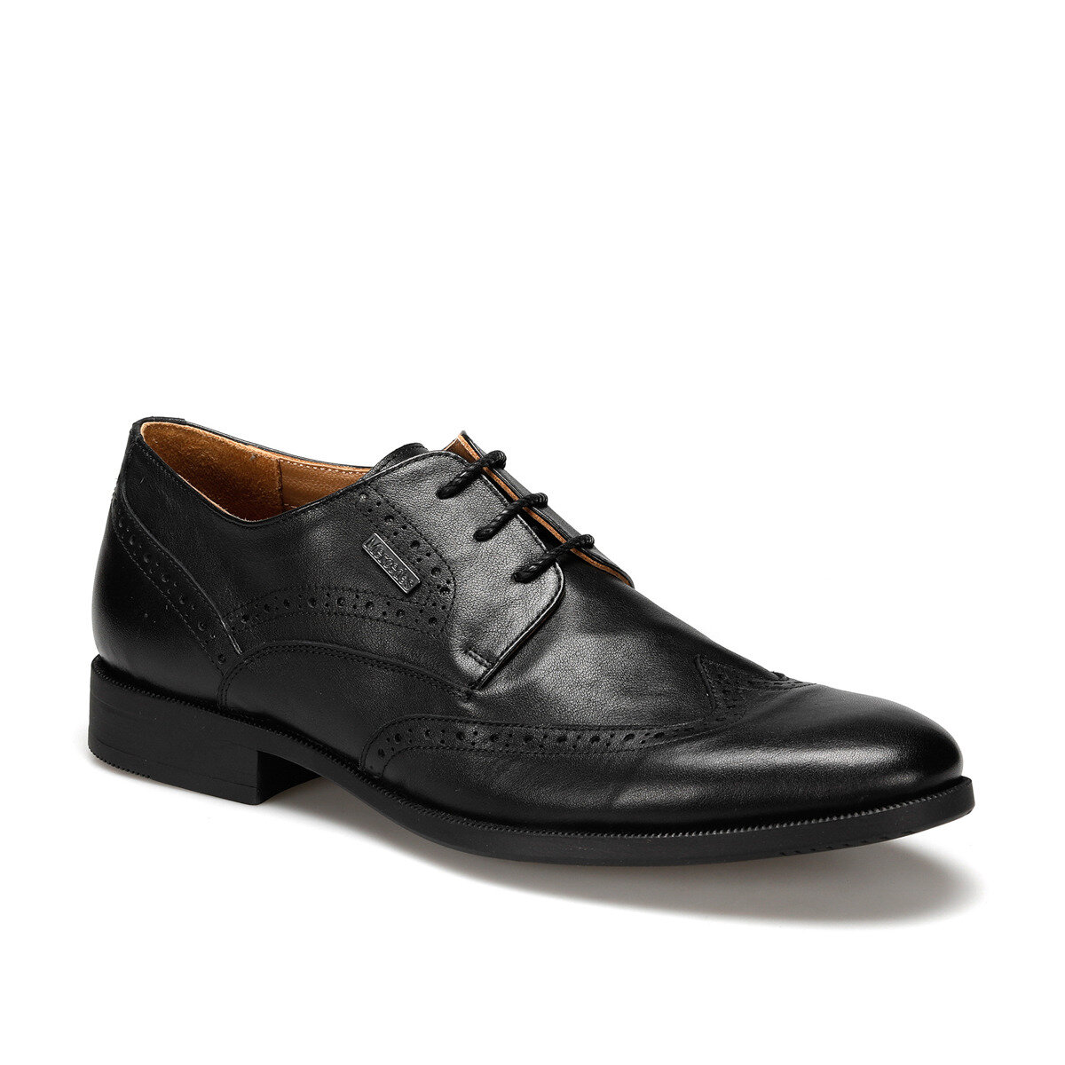 FLO MAGNETO Black Men Dress Shoes MERCEDES