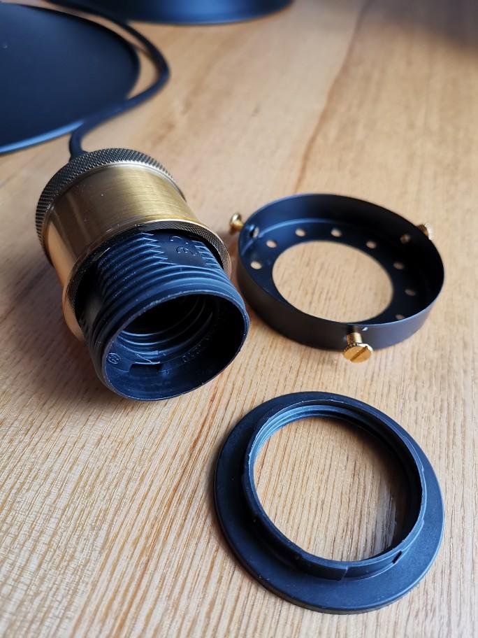 Edison Retrofit Pendant Lamp
