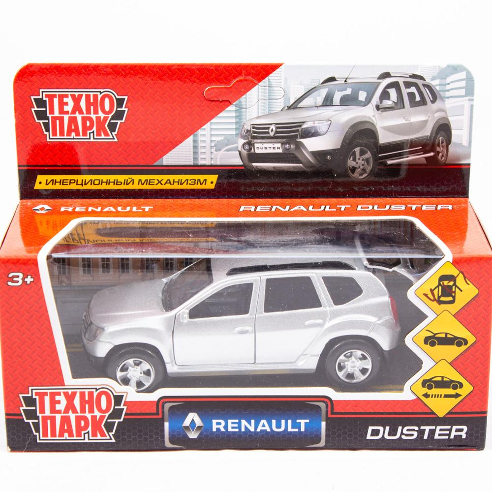 Machine технопарк Metal инерционная Renault Duster 12см Openable Door And Trunk In Box