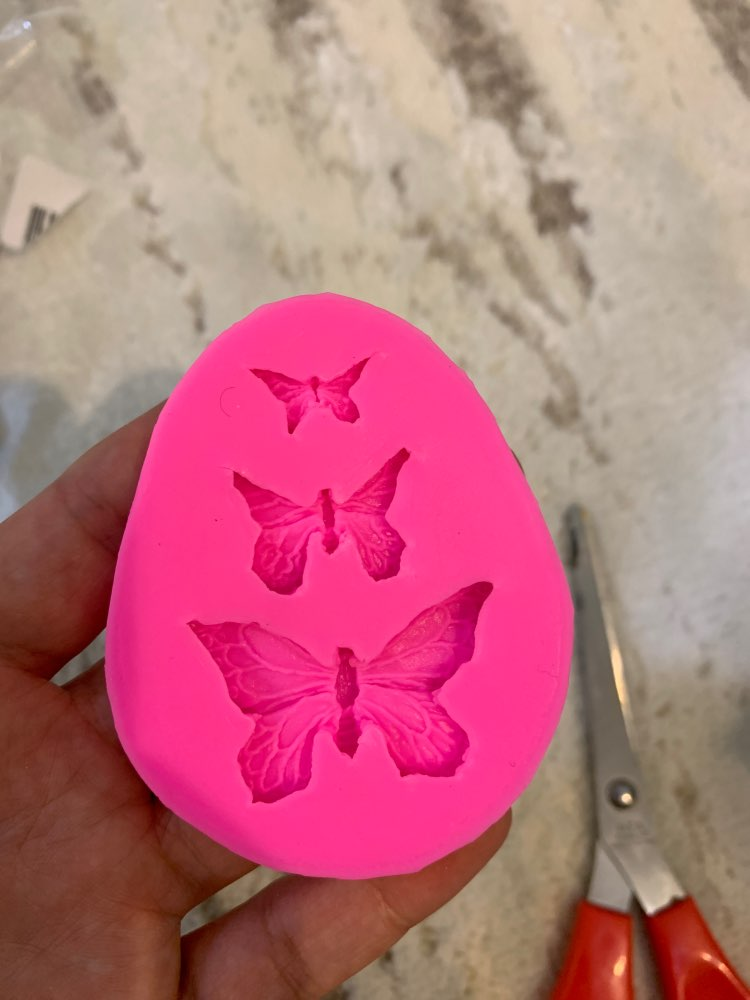 Butterfly Silicone Moths and Butterflies Ribbon