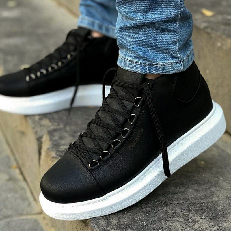 Chekich Sneakers For Men Sneakers Comfortable Flexible Fashion Leather Wedding Orthopedic Walking Shoe Sport Shoes For Men Comfort Unisex Lightweight Lightweight Sneakers Running Shoes Breathable Zapatos Hombre CH258