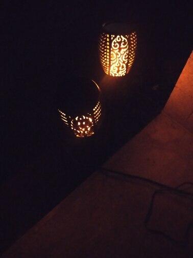 Lâmpadas solares Paisagem Lâmpada Gramado