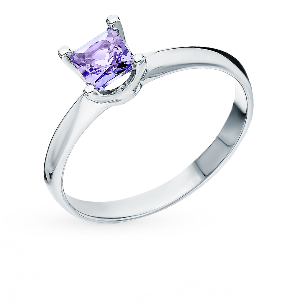 Gold Ring With Tanzanite SUNLIGHT Test 585