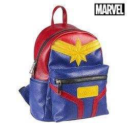 Повседневный Рюкзак Captain Marvel 72855 синий красный желтый