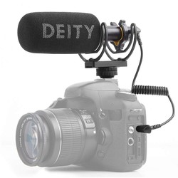 Deity V-Mic D3 Super Cardioid Directional Shotgun Microphone Powerful 3.5mm TRS/TRRS for DSLRs Camcorders Smartphones Tablets