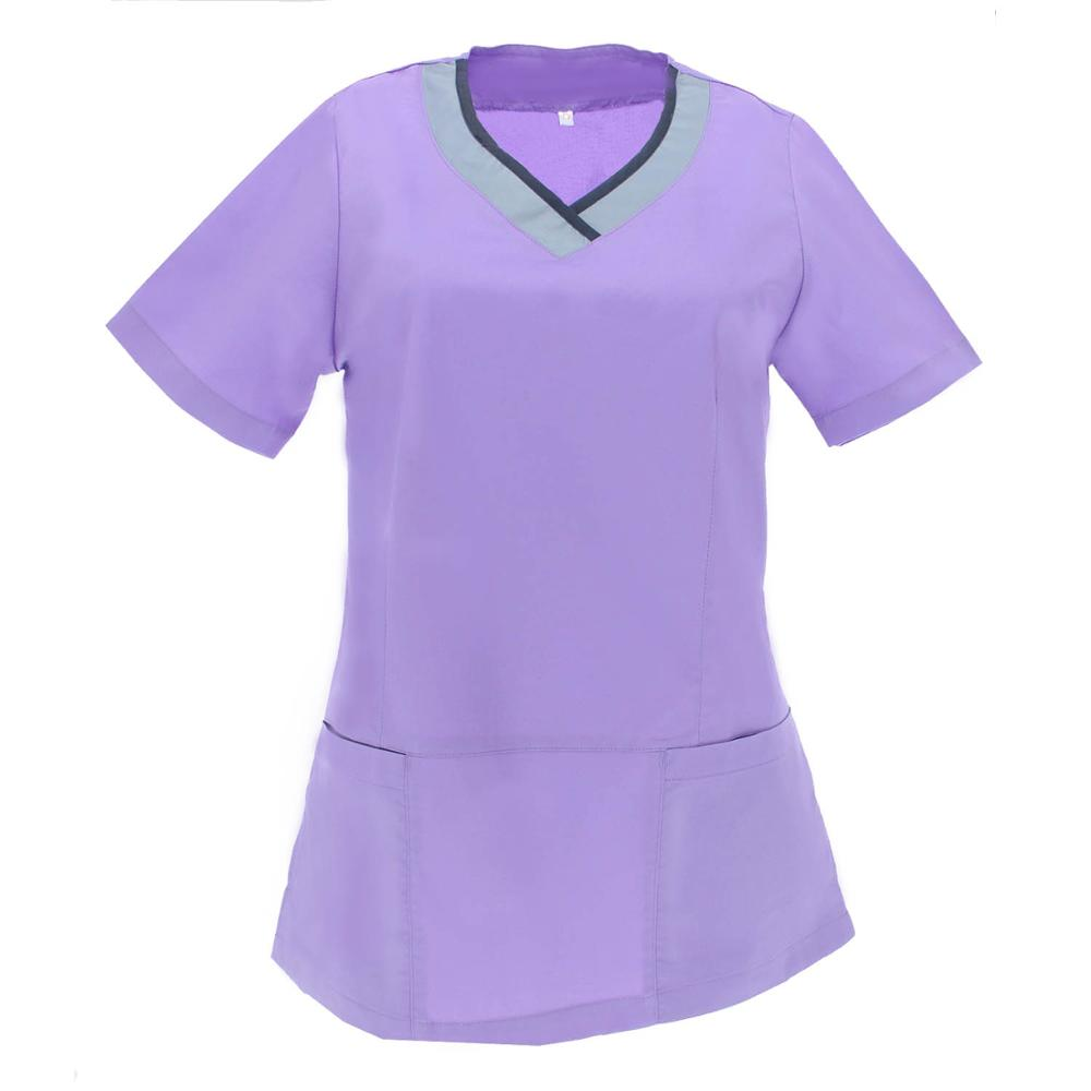 JACKET ELASTIC LADY UNIFORM LABOR Aesthetic CLINIC HOSPITAL DENTIST VETERINARY Sanitaries HOSPITALITY-Ref. G718