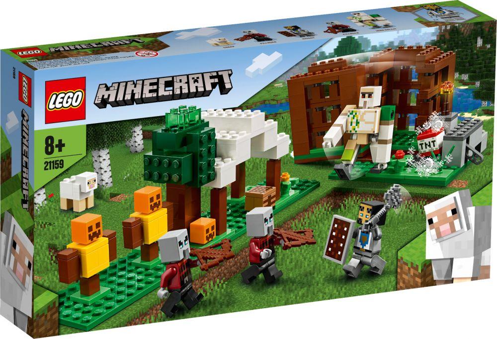 LEGO 21159 L'AVAMPOSTO looter, MINECRAFT