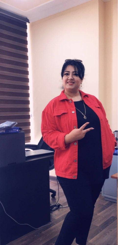 Jaquetas básicas streetwear vermelho casual