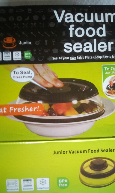 CoverSealer™ - Save Food Longer With Vacuum Food Sealer Cover! photo review