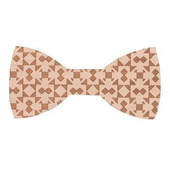 Bow tie for men (wood, figure) 52913