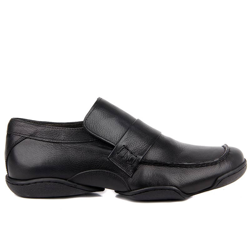 Sail-Lakers Black Casual Shoes