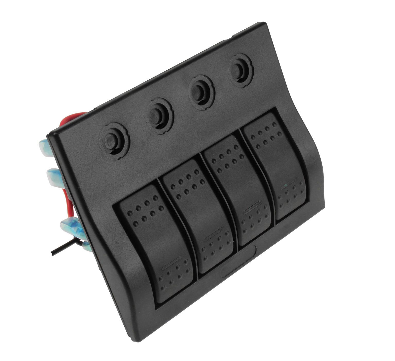 Панель бортового питания 4 переключателя, автоматы AES1214354 Панель    АлиЭкспресс